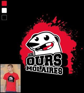 Logo Ours Molaires (Théâtre)
