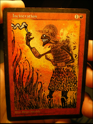Altered Incinerate
