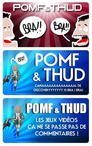 Logos Pomf & Thud