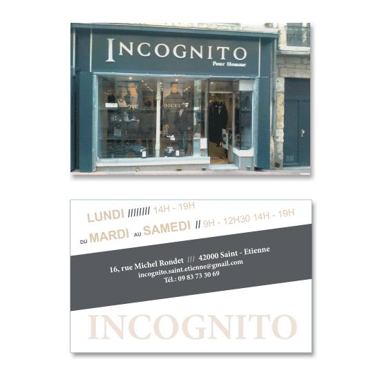 Carte De Visite Incognito
