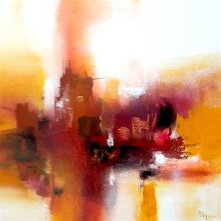 N° 209 / Acrylique et vernis - Format 60 x60 cm