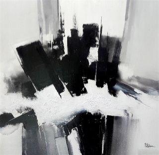 N° 210 / Acrylique et vernis - Format 60 x 60 cm