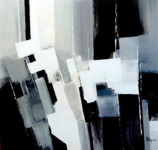 N° 212 / Acrylique et vernis - Format 60 x 60 cm