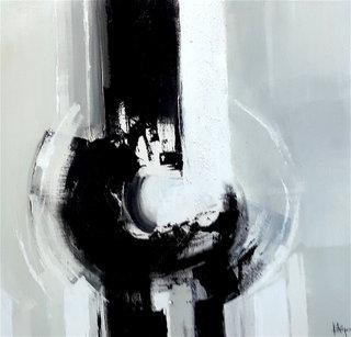 N° 213 / Acrylique et vernis - Format 60 x 60 cm