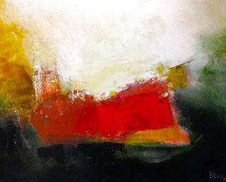 N° 6 / Acrylique et vernis - Format 65 x 54 cm