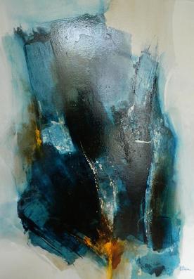 No/21. Acrylique et vernis - format 92 x 65 cm