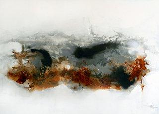 No/14. Acrylique et vernis - format 100 x 73 cm