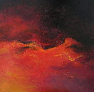 No/ 12 Acrylique et vernis - format 70 x 70 cm