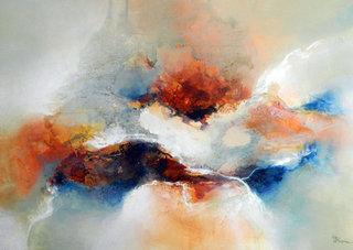 No/18. Acrylique et vernis - format 100 x 73 cm