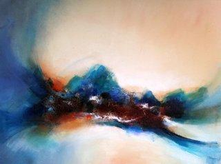 No/10. Acrylique et vernis - format 130 x 97 cm