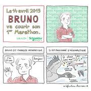 Schneider Electric - BD 1er marathon