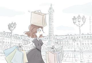 """La petite robe noire en balade."""