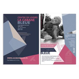 centre de loisirs La Cabane Bleue : plaquette
