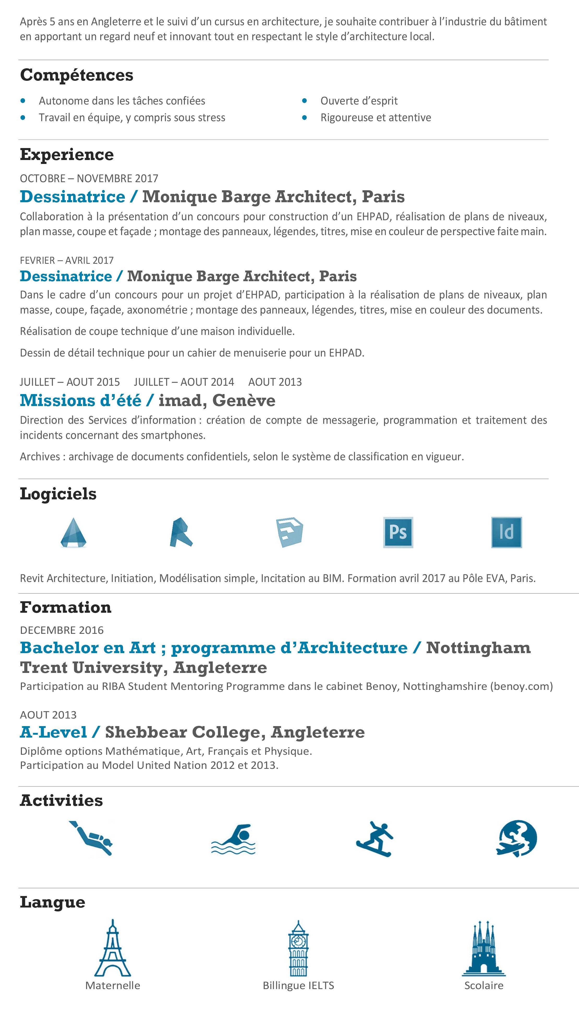 Formation Menuiserie D Art elisa mihaylov   ultra-bookcurriculum vitae : curriculum vitae