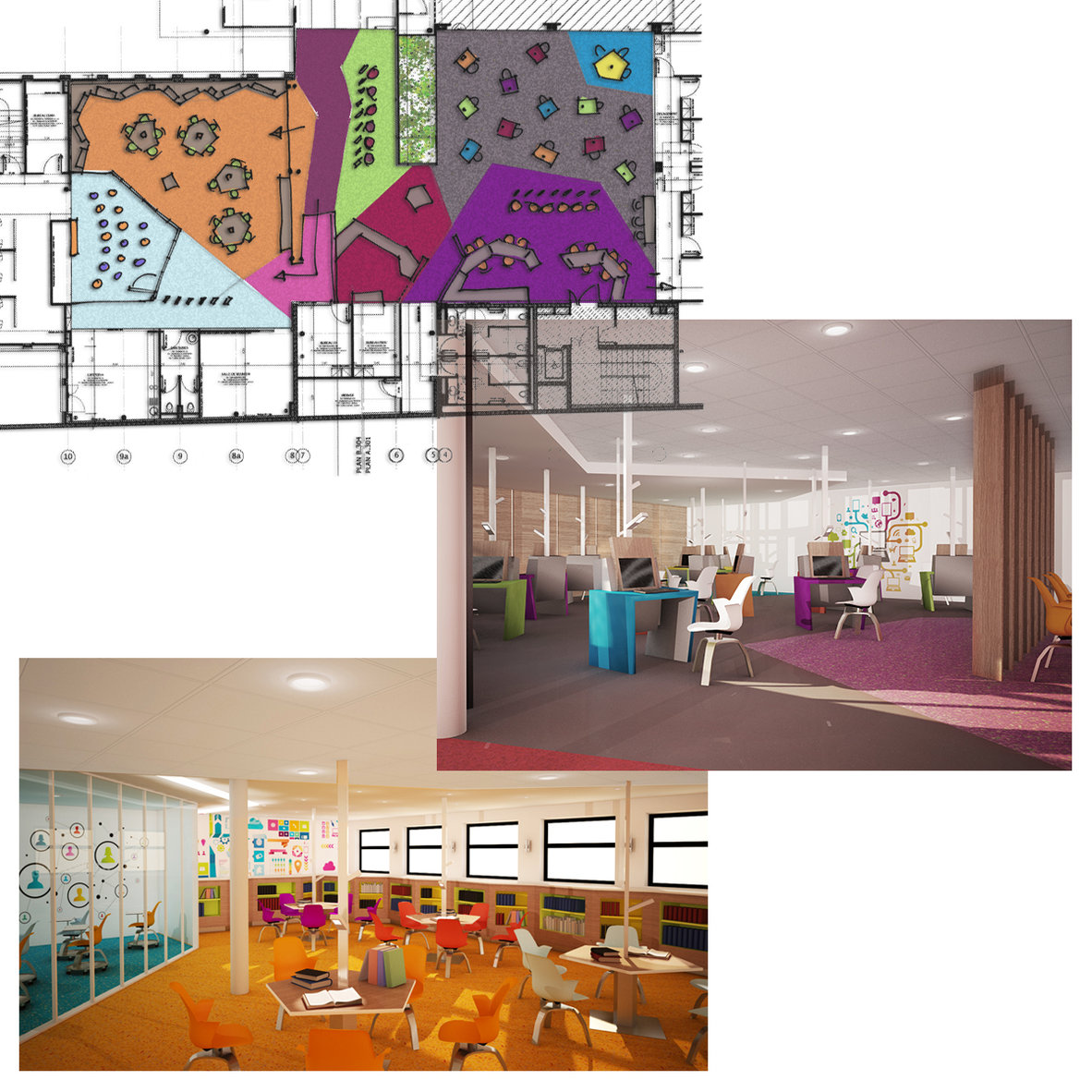 conceptrice en agencement-designer d'espaces pro et habitat portfolio