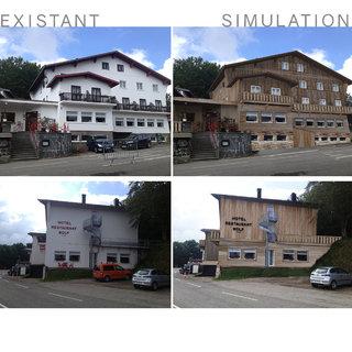 Simulation Photo / Auberge Vosgienne