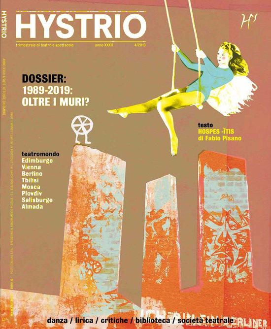 """Cover illustration for """"Hystrio, Trimestrale di teatro e spettacolo"""""""