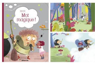 Minibook Le mot magique éditions Lito