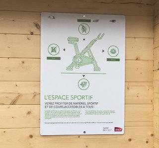 Les Jardins de la Gare - Espace sportif