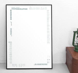 Printemps de la Typographie 2013 - Affiche