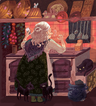 La sorcière de la rue Fritz Kiener
