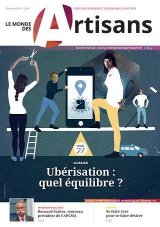 Le Monde des Artisans 116 - couverture