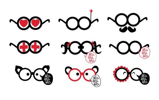 Pictos lunettes