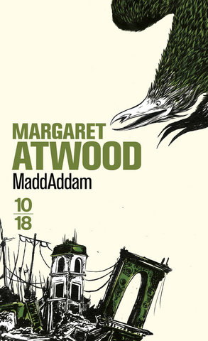 Couverture, Maddaddam, Margaret Atwood, éditions 10/18