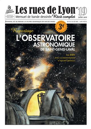 L'Observatoire Astronomique de St Genis Laval, #19 Les Rues de Lyon, éditions L'Epicerie Séquentielle
