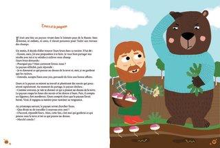 l'ours et le paysan