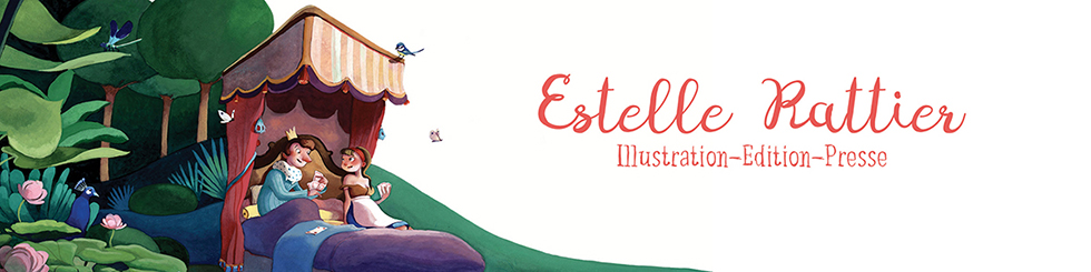 Estelle Rattier - IllustratriceInfos : Publications