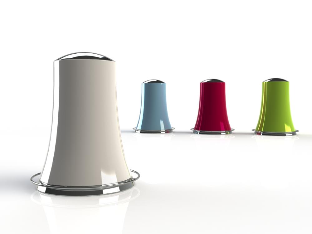 Esthete innovation portfolio m home poubelle design for Bureau ultra design