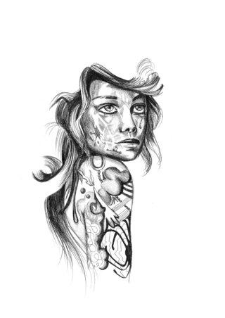 'me tatouée