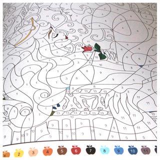 Coloriage Mystères - Disney