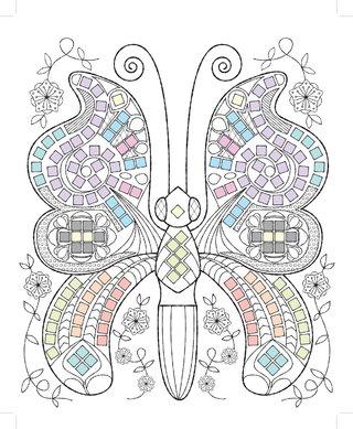 Coloriages Mosaïques