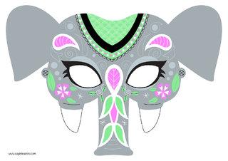 Masque éléphant