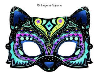 Masques à gratter