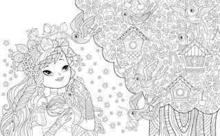 Ma plus belle histoire de princesse à colorier
