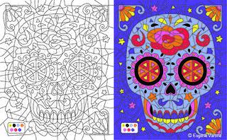 Coloriage Mystère