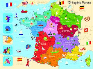 Puzzle France 250 pièces