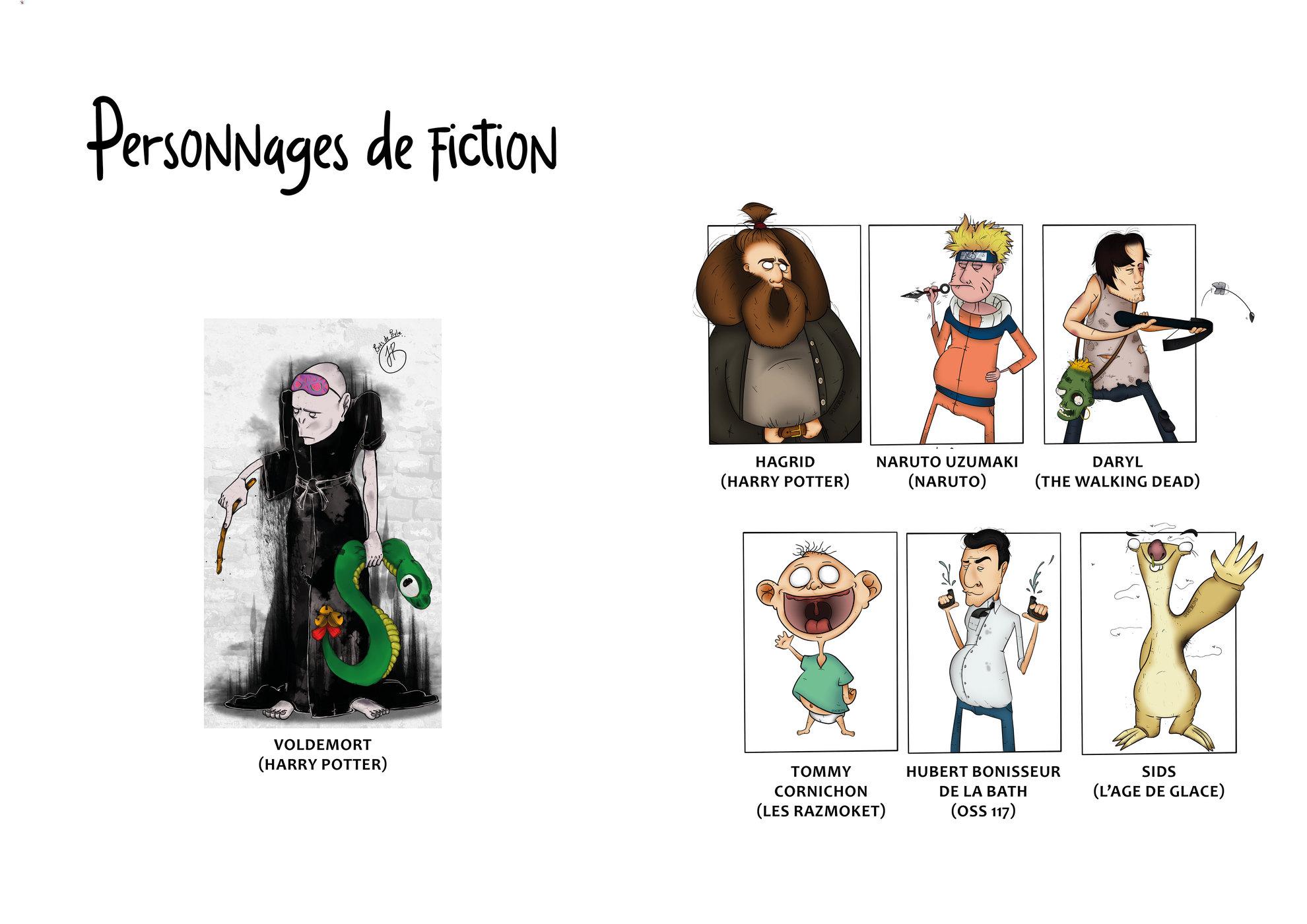 Personnages de fiction