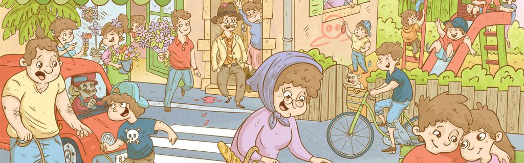 Illustrateur jeunesse, bande dessinée Portfolio