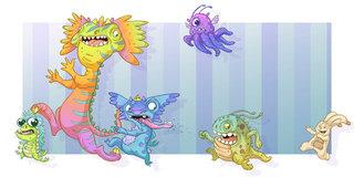 Monstres vs Doudou