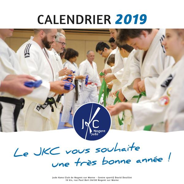 Calendrier pour le club de Judo JKC Nogent sur Marne