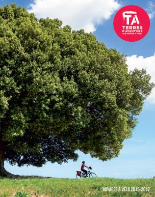 Réalisation de la brochure Terres d'Aventure Vélo 2016/2017