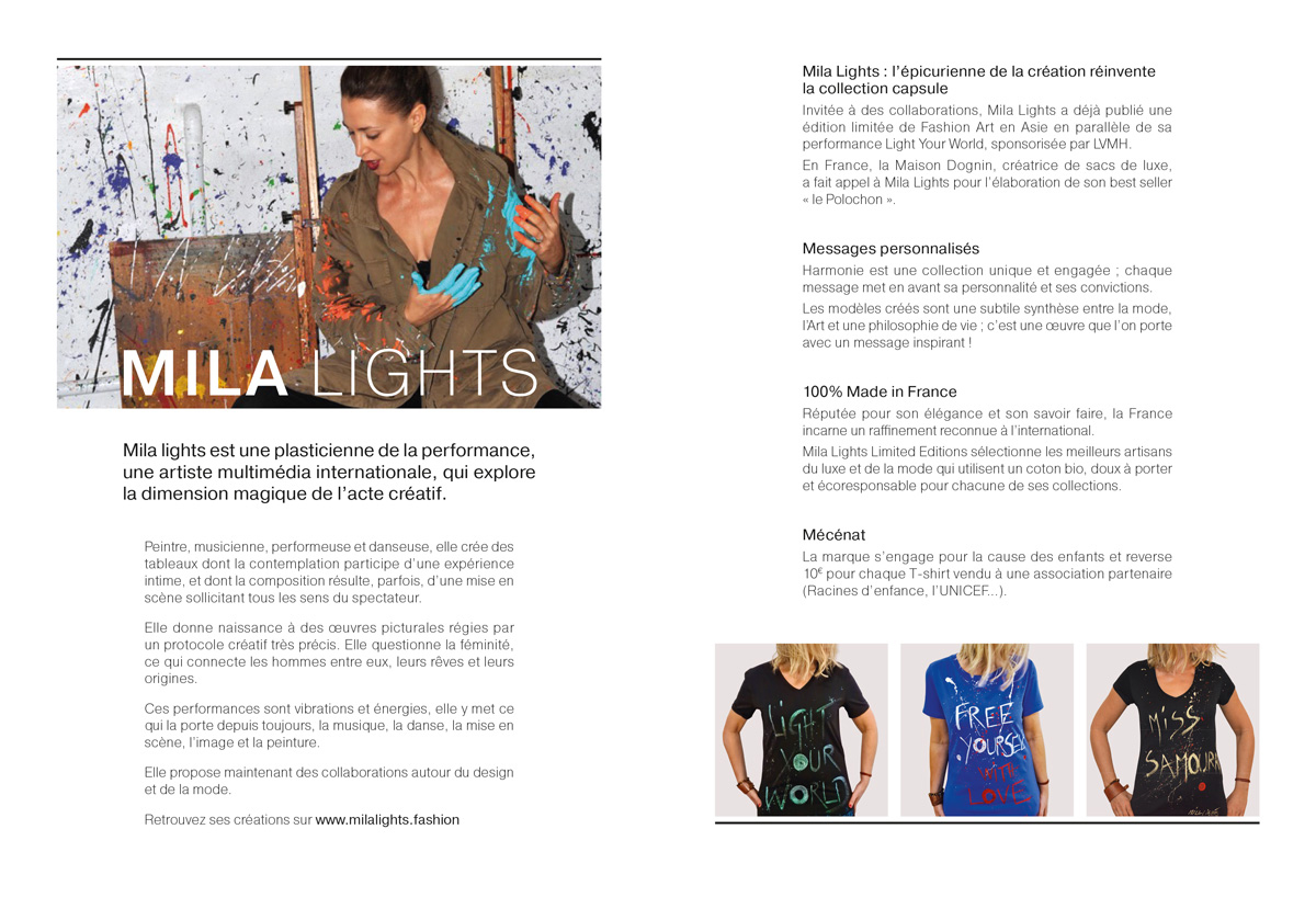 4 Pages Collection Mila Lights Limited Edition - p2 et 3