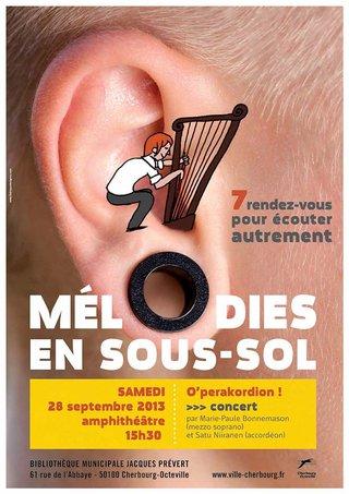 Mélodies en sous-sol / 2014