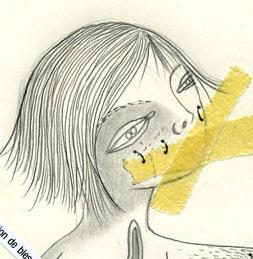 Fafé, dessin Portfolio