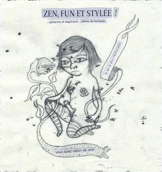 Zen, fun et stylée