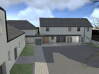 3D pour la réhabilitation de la mairie de Baulle